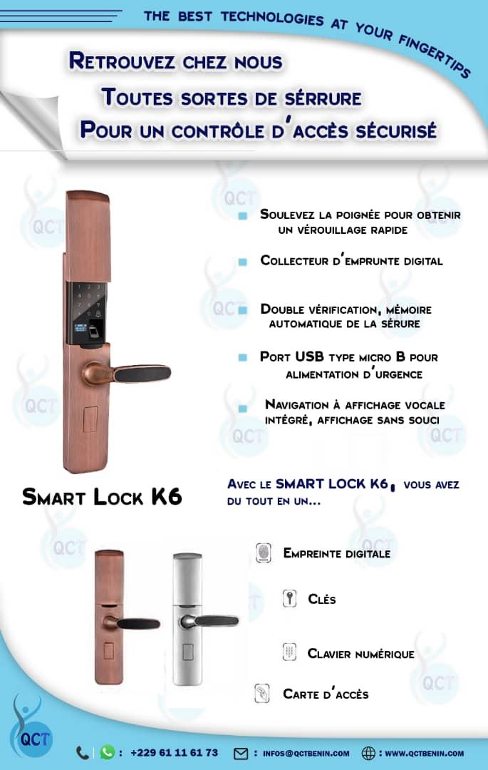 Smart Lock K6