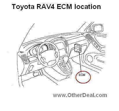 2001-2003 Toyota Rav4 Refurbished ECM 89661-42651