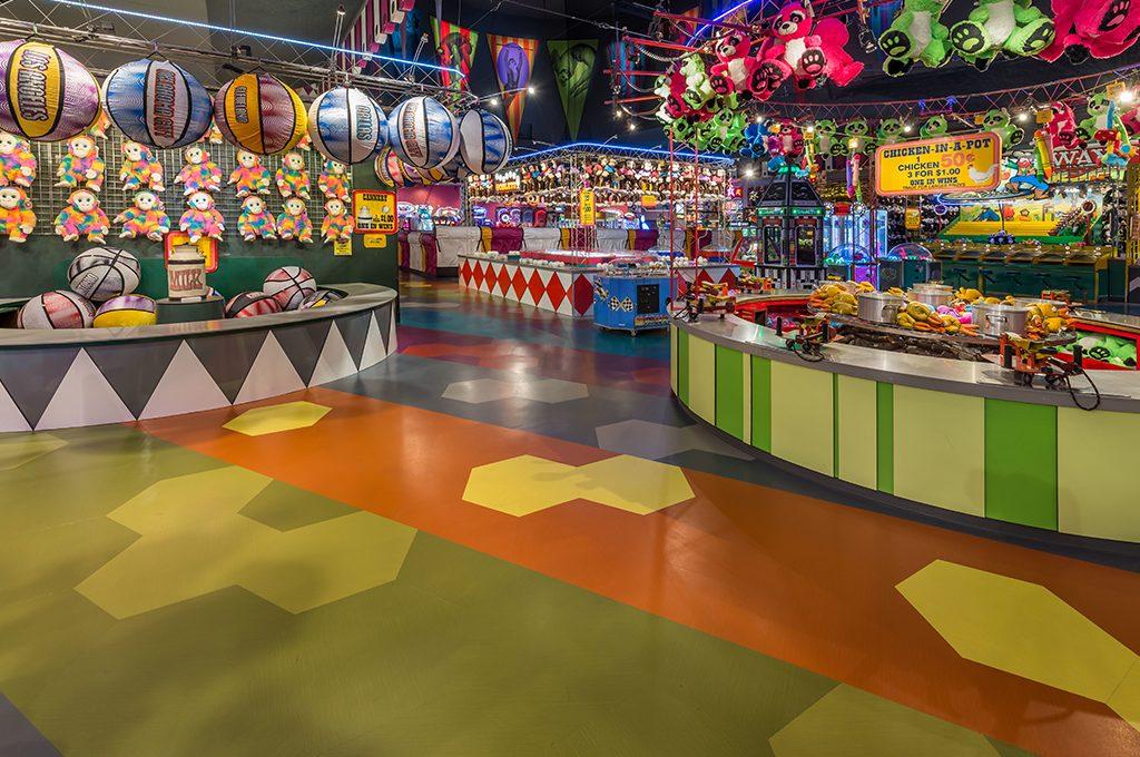 Circus Circus Reno Midway Renovation  QD Construction