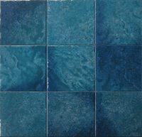 "Seabreeze - Teal 6""x6"" Porcelain Waterline Tile | QDI Surfaces"