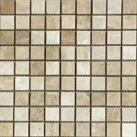 LIGHT MIXED Marble Mosaic Tile | QDI Surfaces