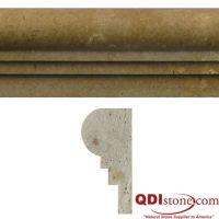 NOCE Travertine Trim Tile   QDI Surfaces