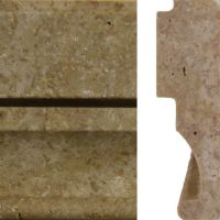 Travertine Trim Tile - Tile Design Ideas