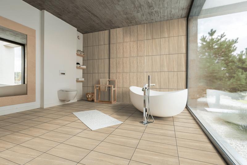 montana beige 12 x24 porcelain floor