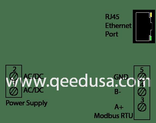 Modbus RS485 to Modbus TCP