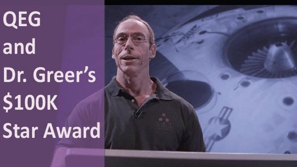 QEG Dr. Greer $100K Star Award