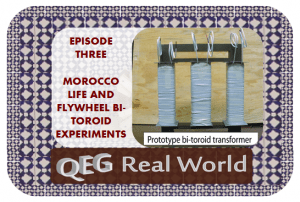 qeg real world episode three bi-toroid experiments