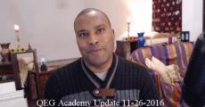 QEG Academy Update 11-26-2016