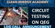 Circuit Testing on QEG Live Call August 26, 2018