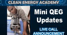 Live Call Mini QEG Update on Initial Test Run