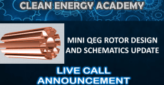 Live Call Mini QEG Rotor Design and Schematics Update July 7 2019