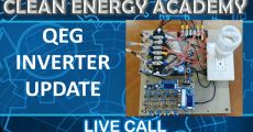 QEG Inverter Update Live call February 23 2020 Clean Energy Academy