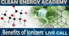 Benefits of Ionizers  Live Call Sunday May 10th Clean Energy Academy