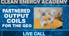 Partnered Output Coils for QEG Live Call Sunday June 28
