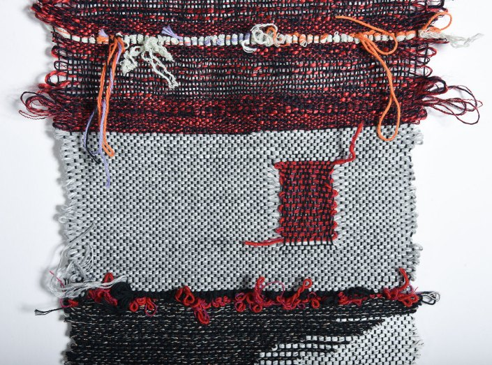 Detail of Red Square @ Susan Ball Faeder