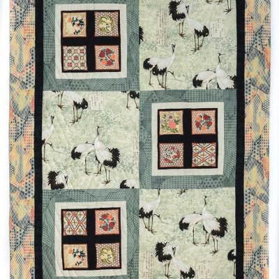 Japanese Cranes © Susan Ball Faeder