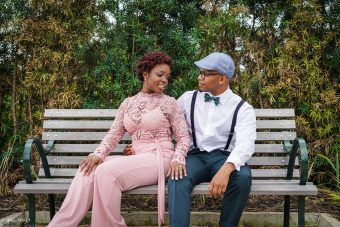 Houston Engagement photographer - the mitchells