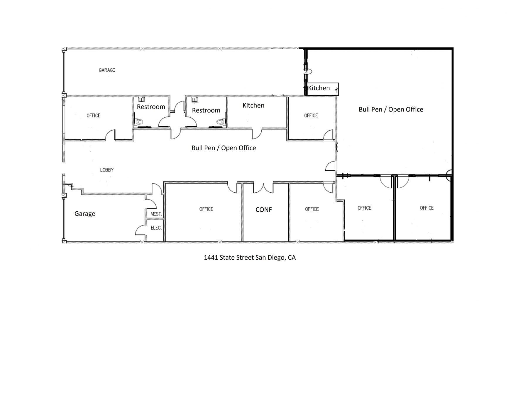 Floor Plan 1 Qfc Real Estate