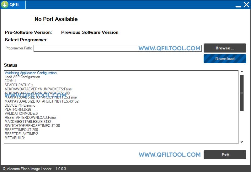 QFIL Tool v1.0.0.3
