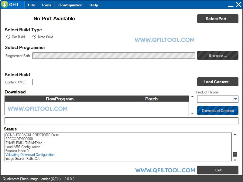 QFIL Tool v2.0.0.3