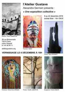 EXPOSITION COLLECTIVE - Atelier Gustave @ Atelier Gustave