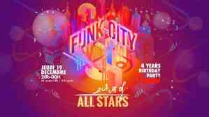 Funk & The City #31: Echoes Of Allstars (4 years Birthday Party) @ New Morning