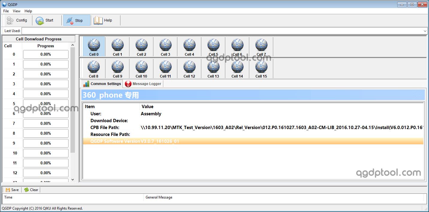 QGDP Tool Assembly v3.0.7