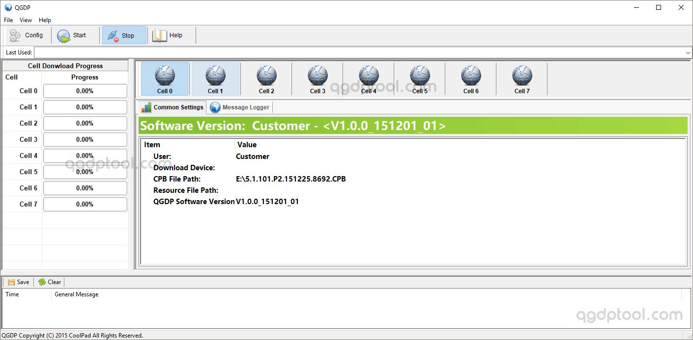 QGDP Tool Customer v1.0.0