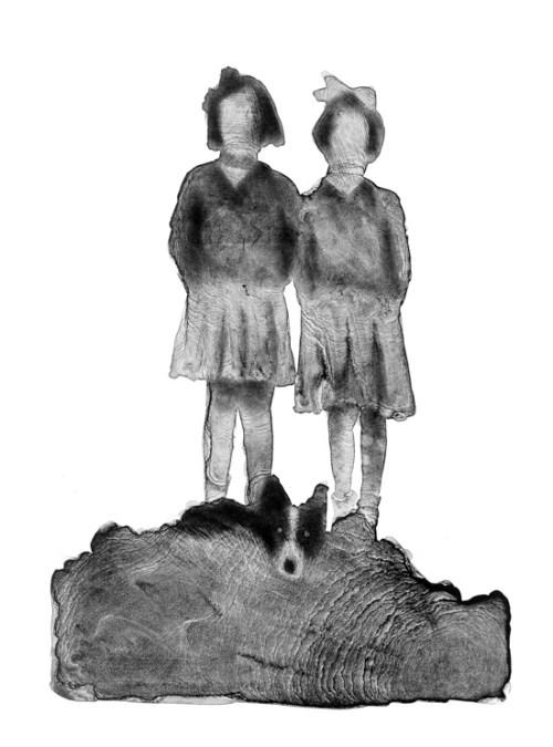 Jim Pavlidis_Sandra-Rosemary-Scotty_lithograph
