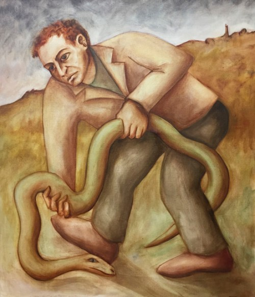 john-ryrie-the-man-and-the-snake