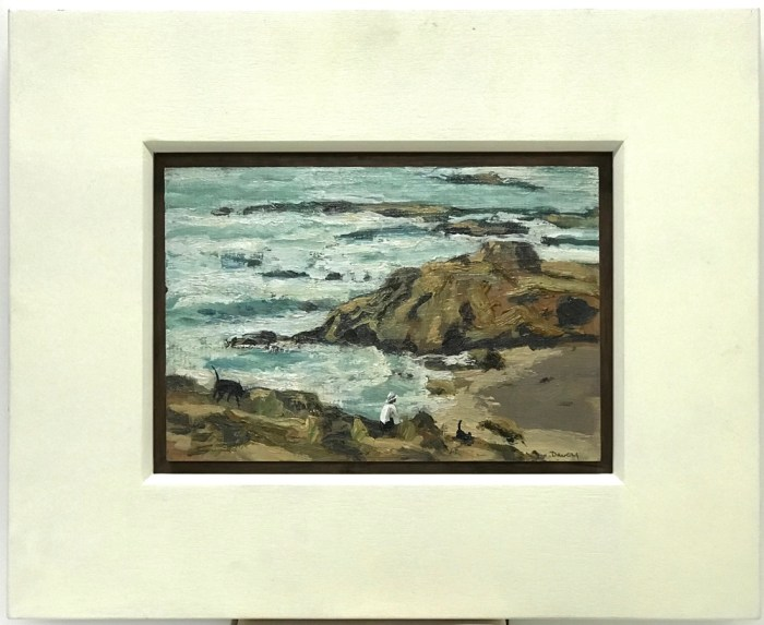 Philip Davey Back Beach 2012 15.5 x 23