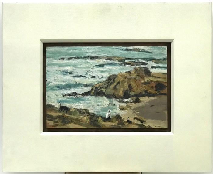 Philip Davey Back Beach 2012 15.5 x 23