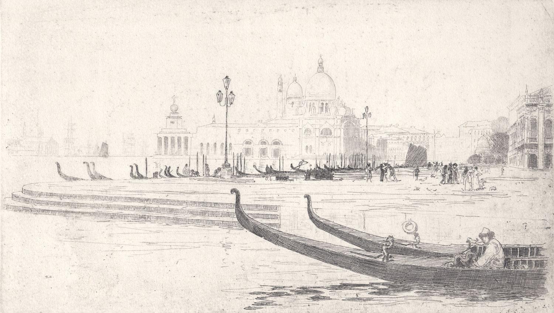 Sir-Arthur-Streeton-La-Salute-from-Riva-Schiavoni,-Venice