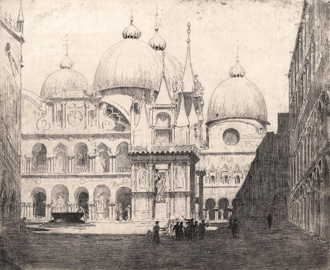 Sir Arthur Streeton San Marco, Venice.sm