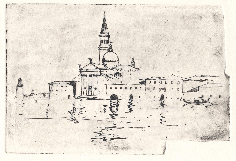 Sir-Arthur-Streeton-Venice-Study