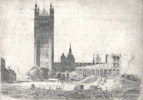 Sir-Arthur-Streeton-Victoria-Tower,-Westminster