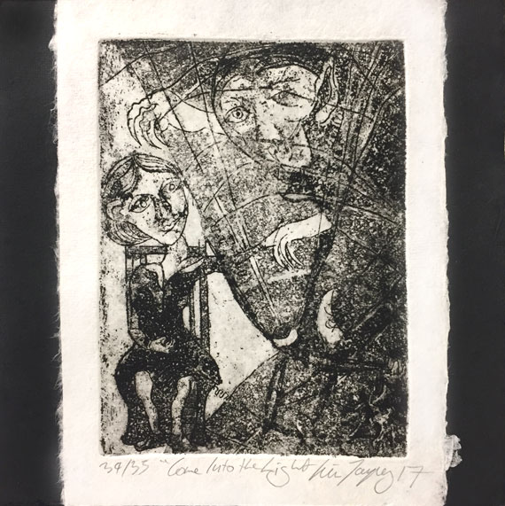 Kim-Tarpey--Bram-Stoker--Come-into-the-light-etching,-aquatint-&-chine-colle