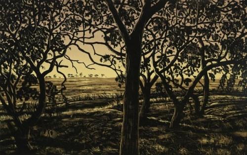 David Frazer Wheatfields by Twilight