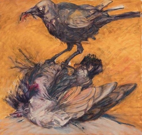Susan-Wald-Crow-1,-2017,-Oil-on-Linen,-144-x-138-cm-pg