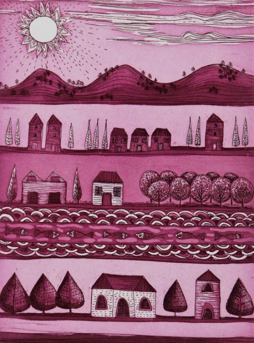 Anita-Laurence-The-Valley-V-etching-aquatint-20x15cm