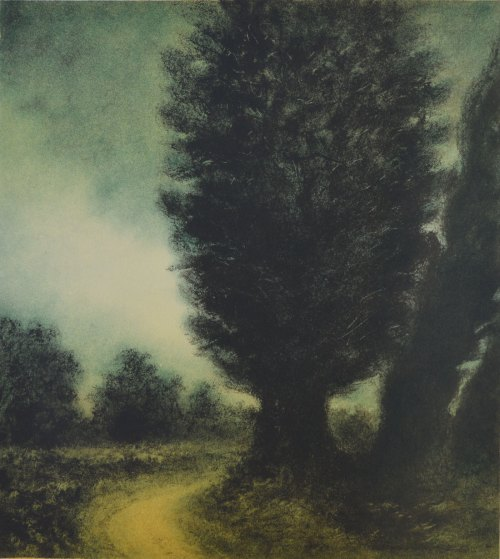 Wayne Viney Litho-Winter-Light