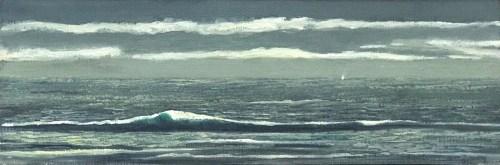 Philip Davey Winter Sail Port Philip Bay 21 x 50
