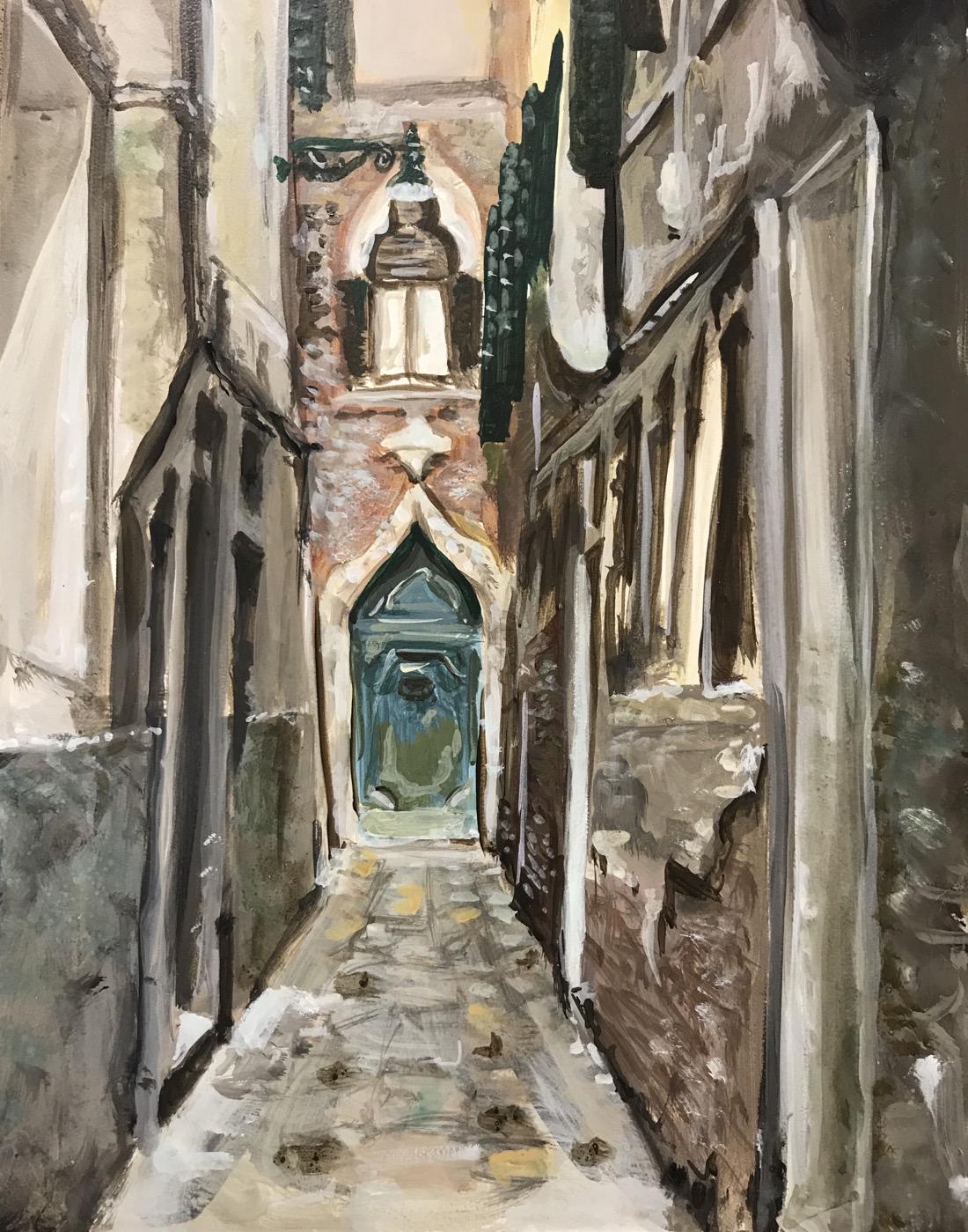 Soula Mantalvanos Medieval Doorway Venice