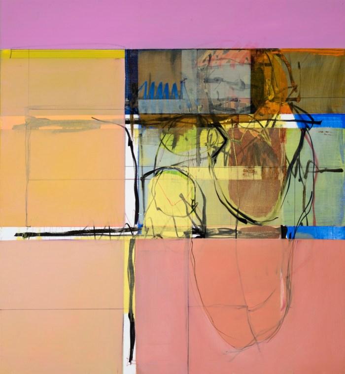 John Waller Anamnesis 10 2019 102 x 92cm
