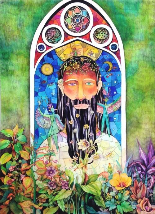 Hyun Ju Kim Jesus of the flowers 2016