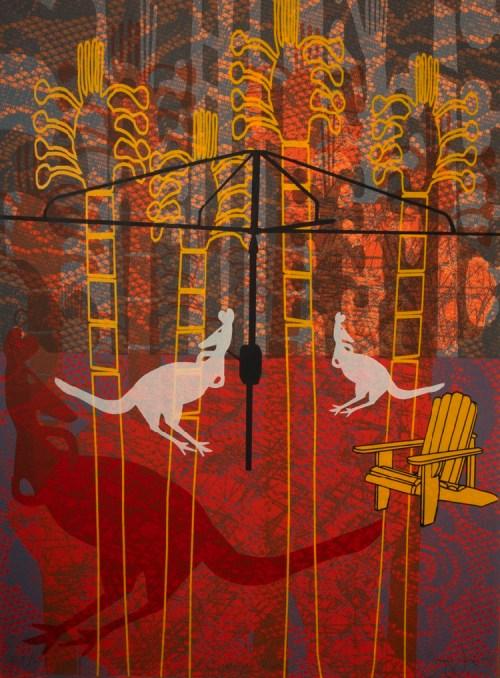 garry jones silkscreen edition of 29 Tom Goulder