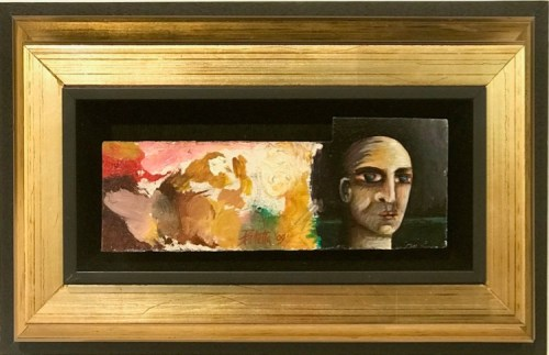 Antonio Balletta Head Study oil $620