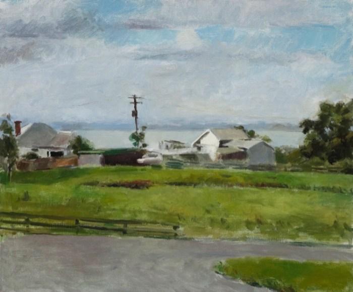 Evan Salmon A farm in Dombarton-