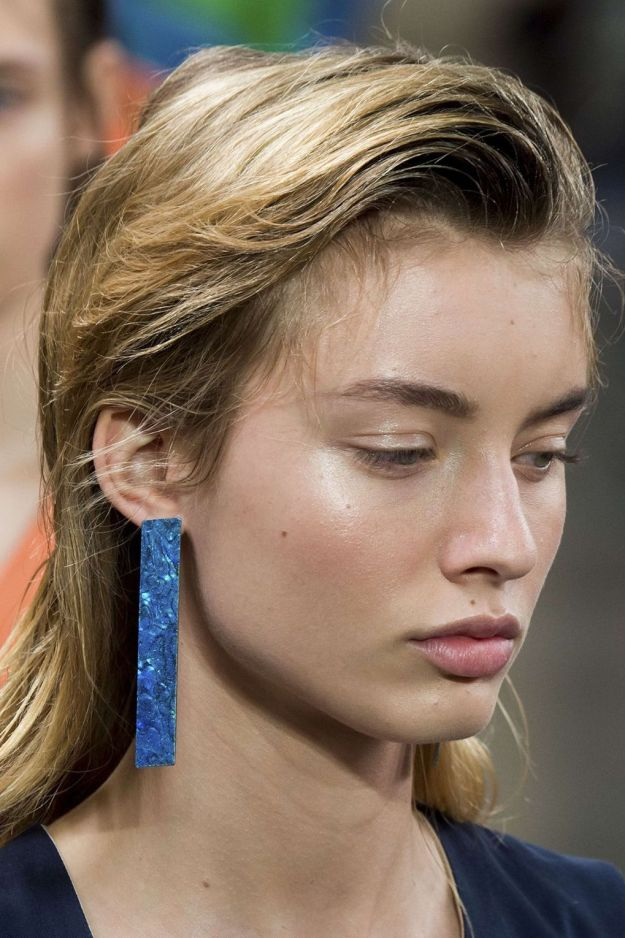The City: London The Show: Christopher Kane The Look: Romantic hair
