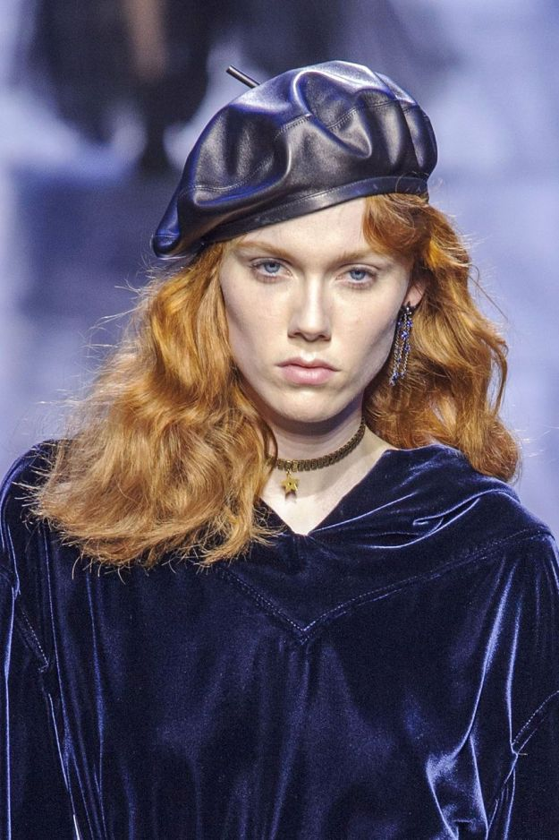 The City: Paris The Show: Dior The Look: Soft waves